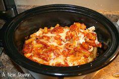 A New Dawnn: Easy Crockpot Baked Ziti Recipe