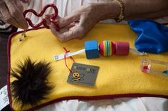 Busy Bee weighted activity lap pad for alzheimers dementia $60