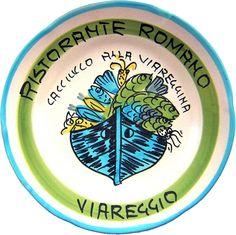Viareggio - Ristorante Romano: Caciucco alla viareggina (apr. 82 - nov. 89)