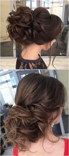 Long wedding updos and hairstyles from Elstile #weddings #weddingideas #hairstyles / http://www.deerpearlflowers.com/new-long-wedding-hairstyles-updos/4/ #weddinghairstyles