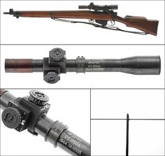 Enfield No. 32 MKII Reproduction Sniper Rifle Scope   My Favorite Airsoft Gun
