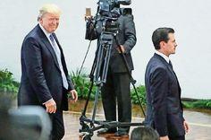 MEXICO SAYS NO: La visita del magnate agita la Residencia Oficial de Los Pinos