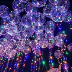 18 Inch Luminous Led Balloons Transparent Balloons With Led Strip Birthday Party Decorations Wedding Christmas Gift. Category: Home & Garden. Product ID: Light Up Balloons, Clear Balloons, Balloon Lights, Bubble Balloons, Colourful Balloons, String Lights, Air Balloon, Neon Lights Party, Latex Balloons