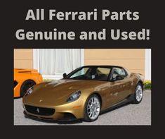 All Ferrari Parts Genuine And Used Ferrari Gearbox Shift Ferrari California