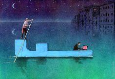 50 Illustrations satiriques sur les Réseaux sociaux (33)