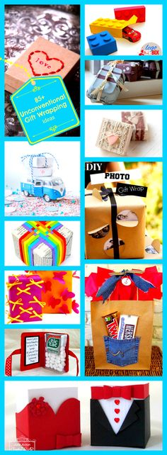85+ Unconventional Gift Wrapping Ideas