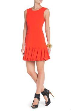 Marte Seamed Tulip Dress | BCBG