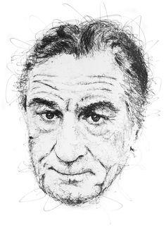 0b56685aa5b42 Gus Romano. RabiscosDoodlesTintaDesenhosObra De ArteIllustrationDesenhosAprender  A DesenharArte De Retrato. Scribble portrait ...