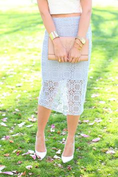 #Spring time #Lace #Skirt is nice cute !!! ;-)