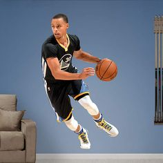 ... Guard Wall Decal | Shop Fathead® for Golden State Warriors Decor