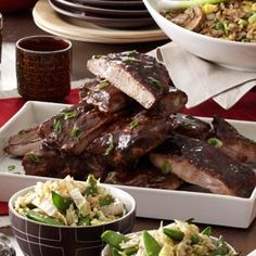Chinese Barbecued Ribs - One bite of these tender and flavorful ribs and you'll understand why this is the most requested recipe from friends and family.
