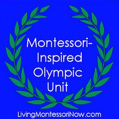 Montessori-Inspired Olympic Unit - Roundup post with lots of Olympic activities. I'll be adding to this throughout the Olympics!