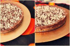 Tarte de Chocolate em base de bolacha com Cuajada