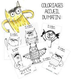 La couleur des émotions Emotions Preschool, Emotions Activities, Preschool Education, Preschool Activities, Kindergarten Behavior, Kindergarten Centers, Science Games, Self Regulation, Les Sentiments