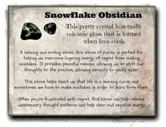 snowflake obsidian meaning energy muse - Google Search