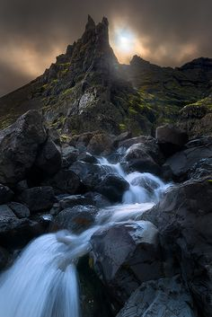 The Gates of Mordor, Iceland, by Alister Benn,
