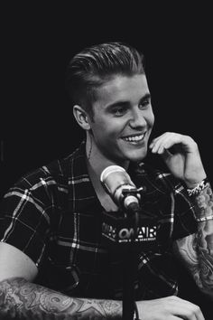 JUSTIN BIEBER, he has to have one of the BEST smiles I've ever seen in my life!!