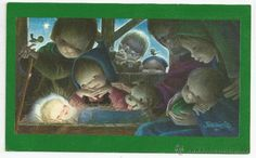 FERRANDIZ CHRISTMAS CARD *1967