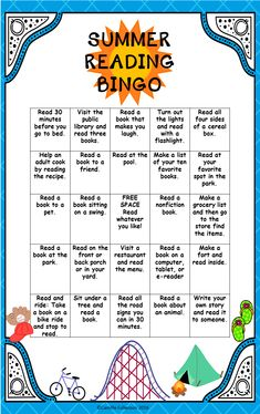Motivation to Read This bingo board students can take home and fill as they go. The more they fill up the bigger their incentive can be. These spaces they can fill are meant to be fun and can be incorporated in any and everything Reading Bingo, 3rd Grade Reading, Kindergarten Reading, Teaching Reading, Reading Logs, Close Reading, Guided Reading, End Of Year Activities, Reading Activities