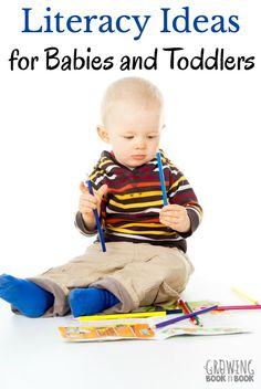 Reading with babies and toddlers is the most important thing to do to help them grow into readers. Reading tips, language activities and book ideas. Fun Activities To Do, Language Activities, Reading Activities, Reading Tips, Early Reading, Reading Resources, Toddler Play, Toddler Books, Toddler Learning