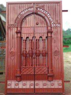Main Gate Design, Door Gate Design, Grill Door Design, Steel Windows, Iron Doors, Engineering, Shop, Home Decor, Puertas