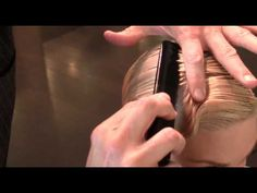 How To : Classic Finger Waves - YouTube