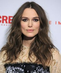 Keira Knightly curls blow dry