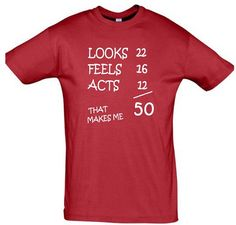 Cool Shirt 50th Birthday Ideas