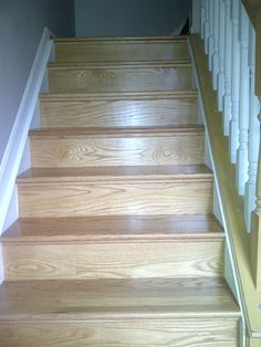 Hardwood Flooring Cincinnati hardwood flooring cincinnati beautiful finished steps then a thick plush stainmaster carpet installed by home Sand And Finish Retread Steps And New Risers Installed In Anderson Suberb Of Cincinnati