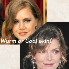 Don't know your color family? then just identify whether you have warm or cool skin for the easiest way to choose the most flattering makeup and hair colors