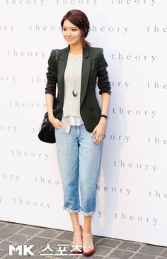 SNSD Sooyoung Comfy Casual style