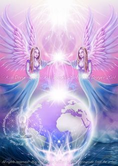 Co-Operate - Sacred Light Visions - The Art of Kim Dreyer
