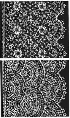 irish lace crochet patterns | Pattern Book IRISH CROCHET LACE 30 Motifs + 12 Borders~Techniques ...