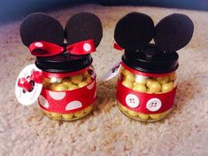 holaway Mickey Mouse and Minnie Mouse Party Favors Mickey E Minnie Mouse, Mickey Mouse Crafts, Fiesta Mickey Mouse, Disney Mickey Mouse Clubhouse, Mickey Mouse Parties, Mickey Party, Elmo Party, Dinosaur Party, Mickey Mouse Birthday Decorations