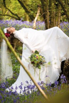 ~ The look of love ~ Spring weddings - every angle covered! Featuring @hberryflowers  @bridalb  #locallife #Farnham #Surrey #spring #weddings #boho #bridal #bluebells