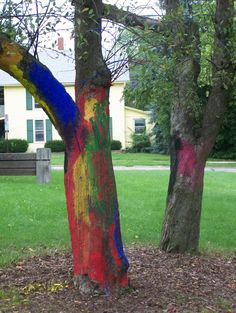 Art Camp Trees :: picture by susancwright - Photobucket Art Camp, Public Art, Trees, Camping, Plants, Pictures, Painting, Campsite, Photos