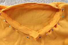 How to Turn a Crew Neck T-Shirt Into a V-Neck