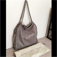 NWT Stella McCartney Shaggy Bag _ Gray 100% authentic Stella McCartney Shaggy bag in gray. Comes with original dust bag and tag. Purchased from Saks. If you need more pictures, please leave me a comment with your email address. Stella McCartney Bags Shoulder Bags