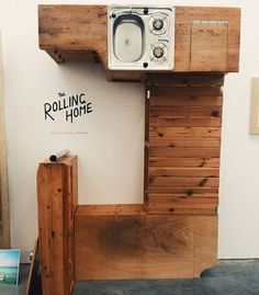 @thechalkboardvan  Kitchen seating and storage on show by @therollinghome by austerlife