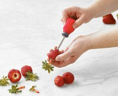 Enter to win a Trudeau Strawberry Huller and/or a Cocktail Shaker on TwoClassyChics blog #sponsored #giveaway