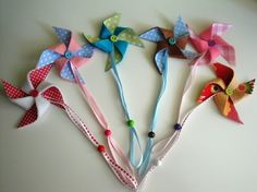 Pacifier chain from Petite Numi!