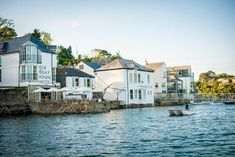 Expect harbour views and culinary thrills at this beautifully renovated Victorian townhouse-turned-hotel. Previously a Seamen's Mission, it retains much of its original character, offering a backdrop to relax over champagne, seafood and striking river vistas, in one of Cornwall's liveliest harbour towns. Roseland Peninsula, Cornwall Hotels, Victorian Townhouse, Harbor Town, Seaside Wedding, Best Wedding Venues, Fantasy Wedding, A Boutique, Backdrops