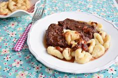 Dalmatian beef stew with home made gnocchi