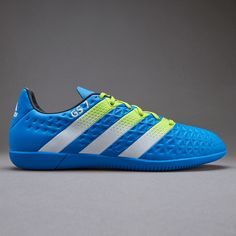 adidas ace 16.3 in shock blue semi solar slime white