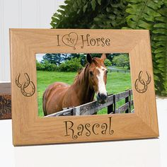 I Love My Horse Picture Frame
