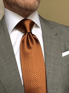 London York Executive Knot Ties: Designed to make a powerful, more substantial knot without sacrificing length. www.london-york.com