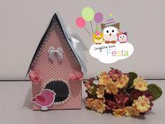 Como fazer casinha de passarinho com caixa de leite – Inspire sua Festa ®
