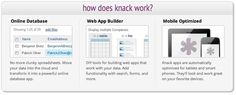 Knack is the easy web app builder that enables anyone to build web apps and create online databases.