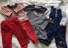 Bundles Spirited Girls 9-12 Months Dungaree Bundle Baby