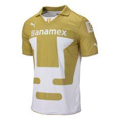 ec77ede5f17 Puma Pumas UNAM 2013/2014 Home Soccer Jersey Soccer Gear, Soccer Jerseys,  Liguilla